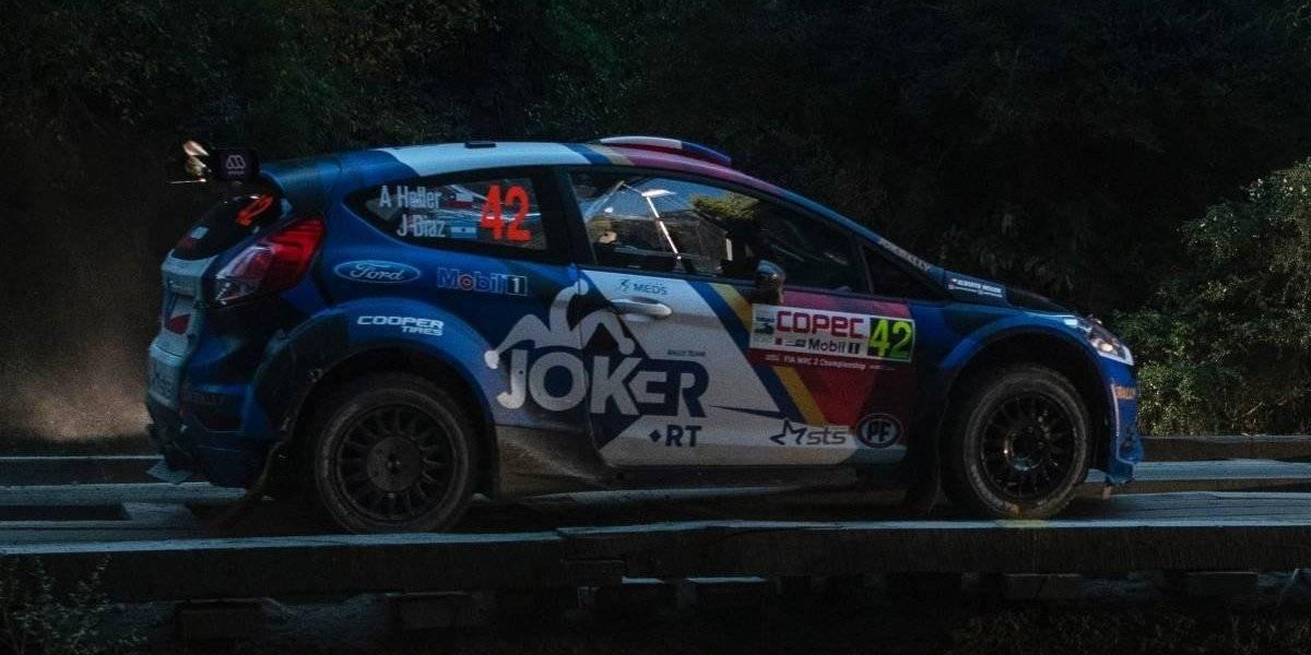 Alberto Heller cede el liderato del WRC-2, pero sigue como el mejor chileno de la serie