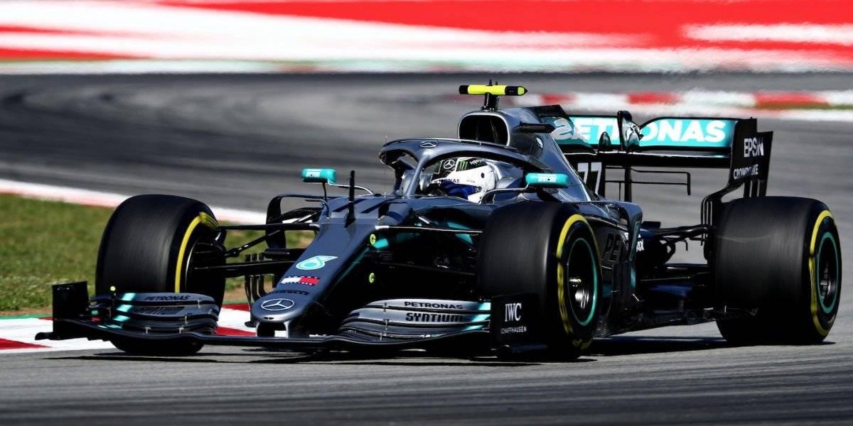Bottas largará desde la pole en el GP de España; Checo arrancará decimoquinto