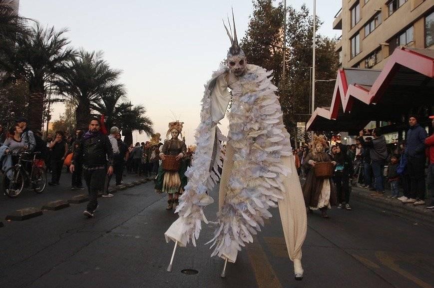 Desfile de La Alameda