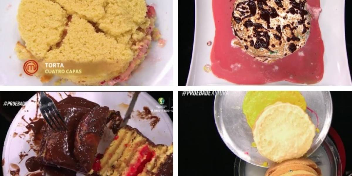 """""""MasterChef"""": Los mejores memes y reacciones que dejaron las horribles tortas de los participantes"""