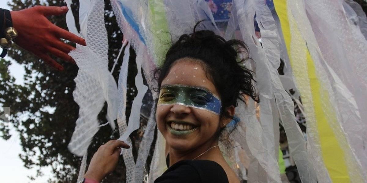 Semana de la educación artística partió con irreverencia desde la Alameda