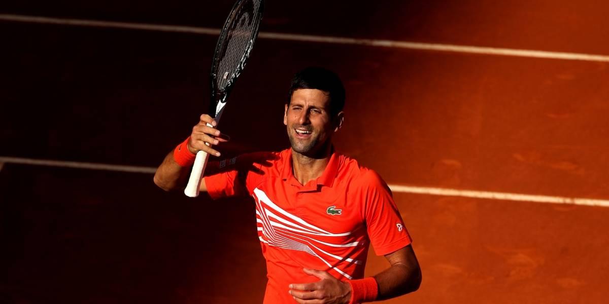 Djokovic sufrió, pero avanzó a la Final del Madrid Open