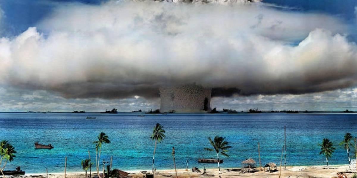 Científicos chinos encuentran residuos de Bombas Nucleares en el fondo del océano