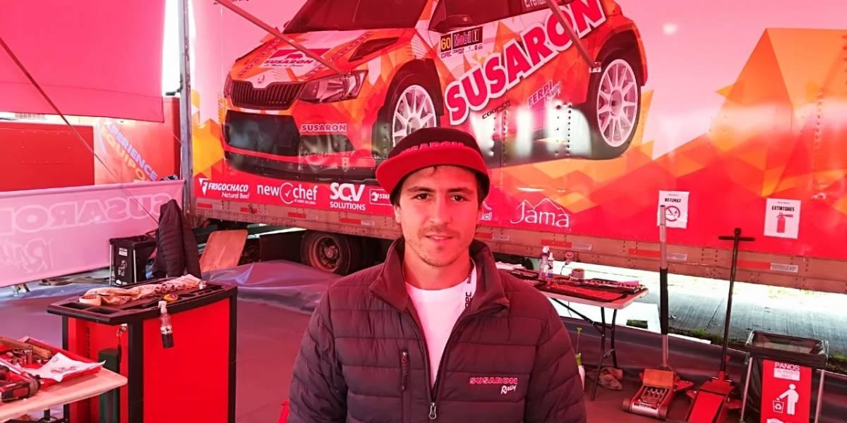 """Emilio Fernández disparó contra la organización del WRC y acusó abandono: """"Fue un infierno pasar toda la noche en la ruta"""""""