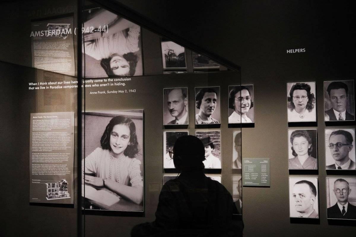 Anna Frank murió en marzo de 1945. Foto: Getty Images