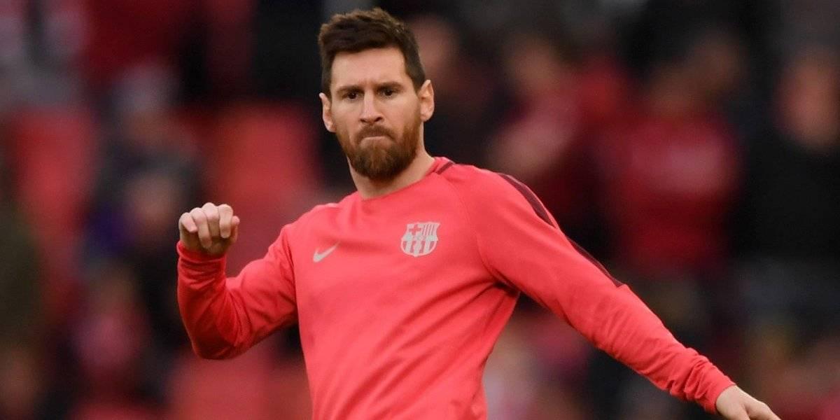 Messi estrena look tras eliminación de Champions