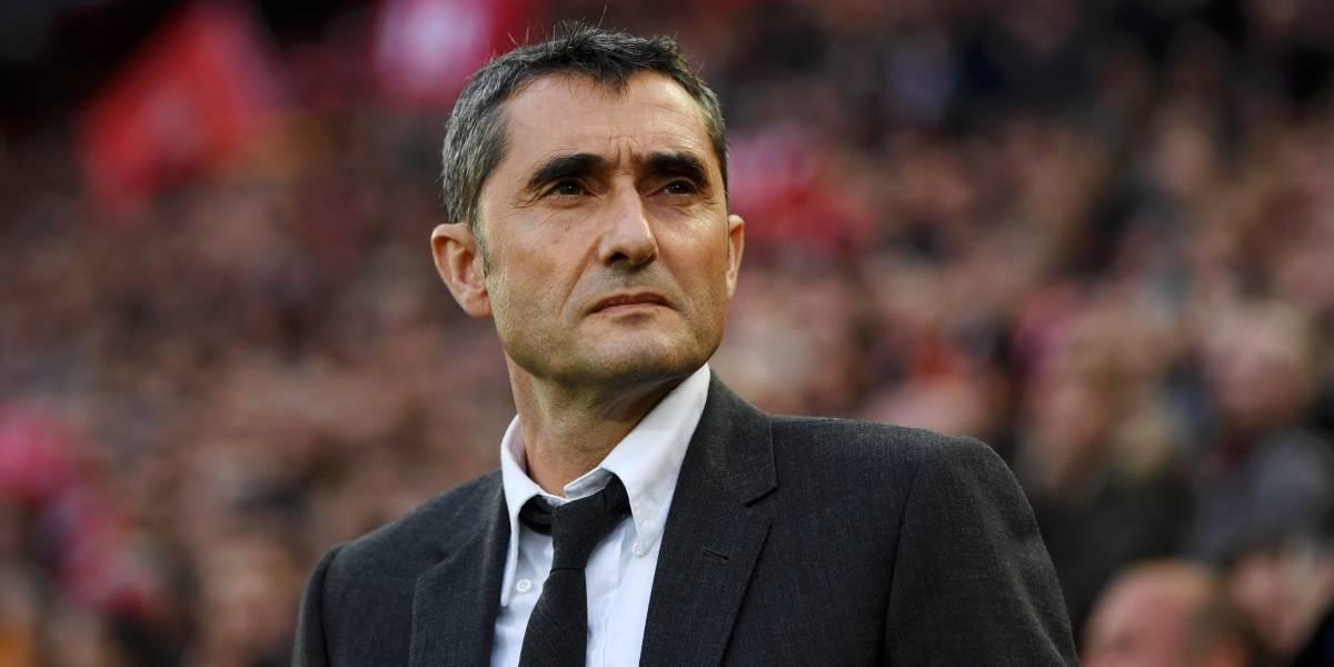 Ernesto Valverde habla sobre su futuro en el Barça