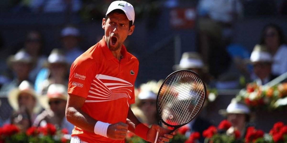 Novak Djokovic cortó las aspiraciones de Thiem y Massú en el Masters 1000 de Madrid