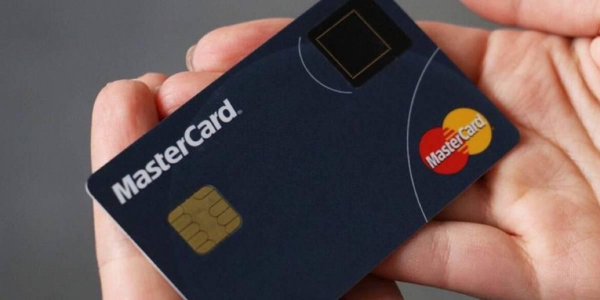 Mastercard está probando en México su tarjeta con sensor de huellas dactilares