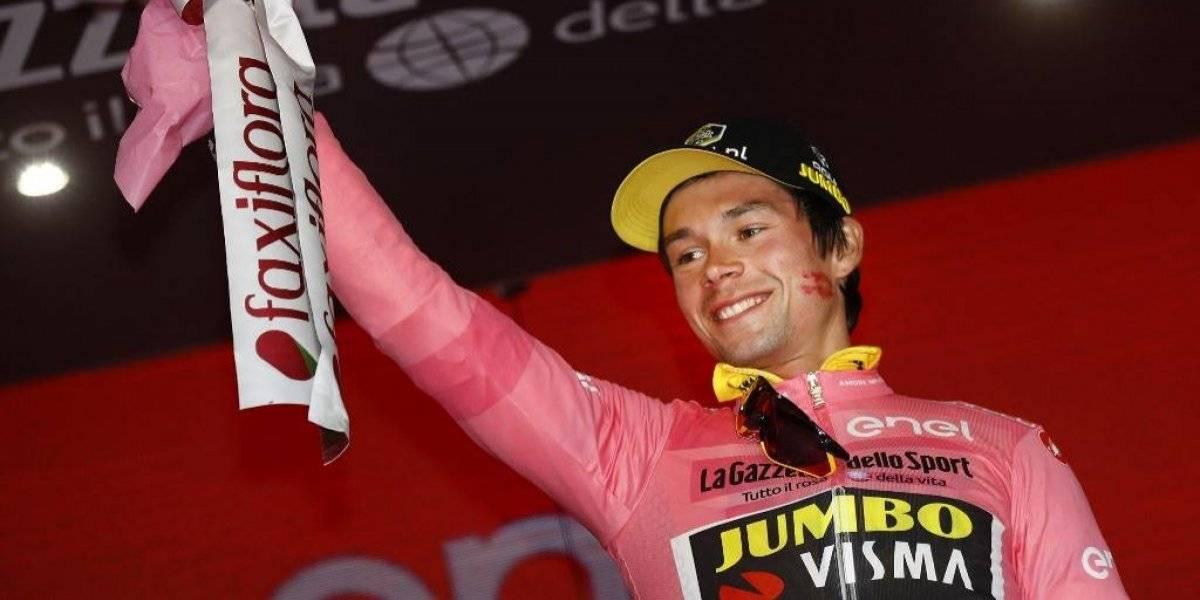 Primoz Roglic gana contrarreloj y se viste de rosado en el Giro 2019