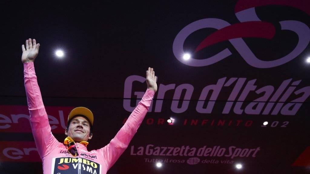 AFP | Primoz Roglic ganó la contrarreloj este sábado en Bolonia