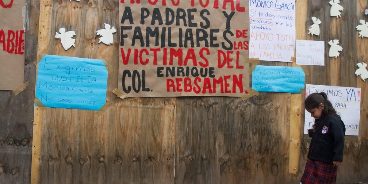Detienen a Mónica García Villegas, ex directora del Colegio Rébsamen