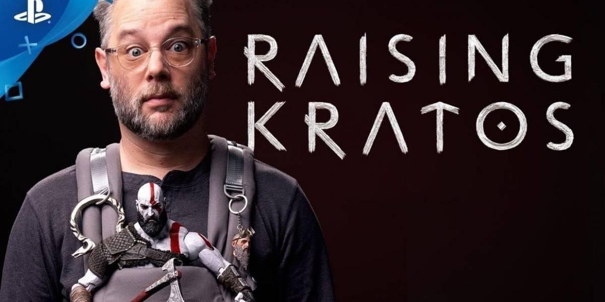 """Ya está disponible """"Raising Kratos"""", un documental sobre el desarrollo de God of War"""