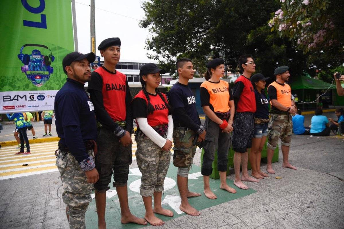 Rescatistas descalzos 10K BAM Municipalidad de Guatemala