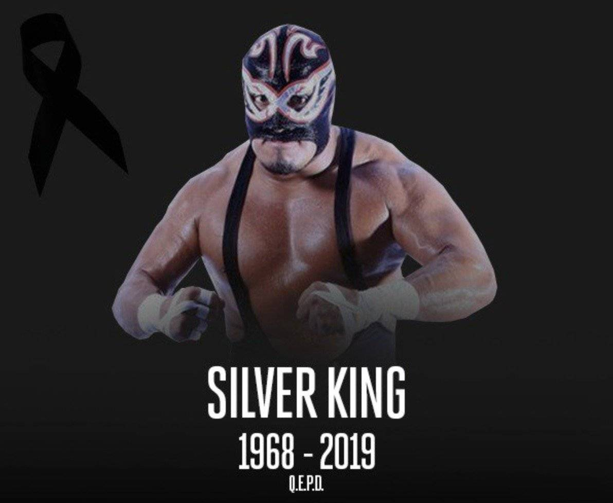 Silver King falleció en Londres Twitter @luchalibreaaa