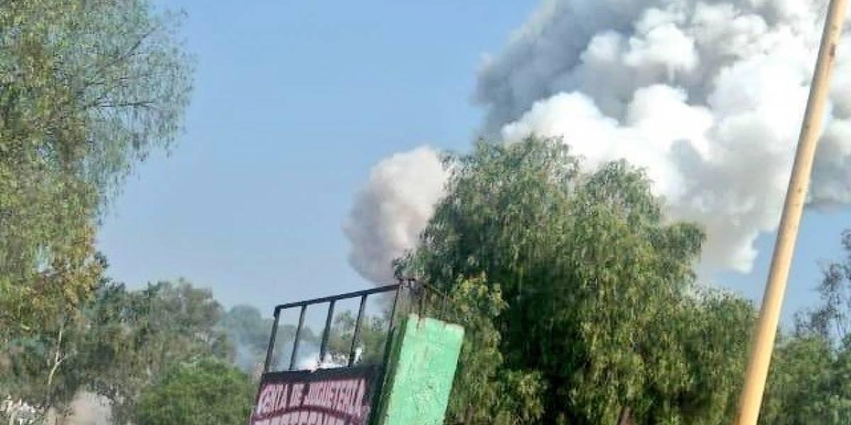 Nueva explosión de polvorín en Tultepec deja al menos un muerto y 4 heridos