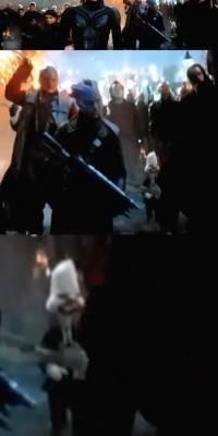 Howard, el pato aparece en la batalla final de Avengers: Endgame