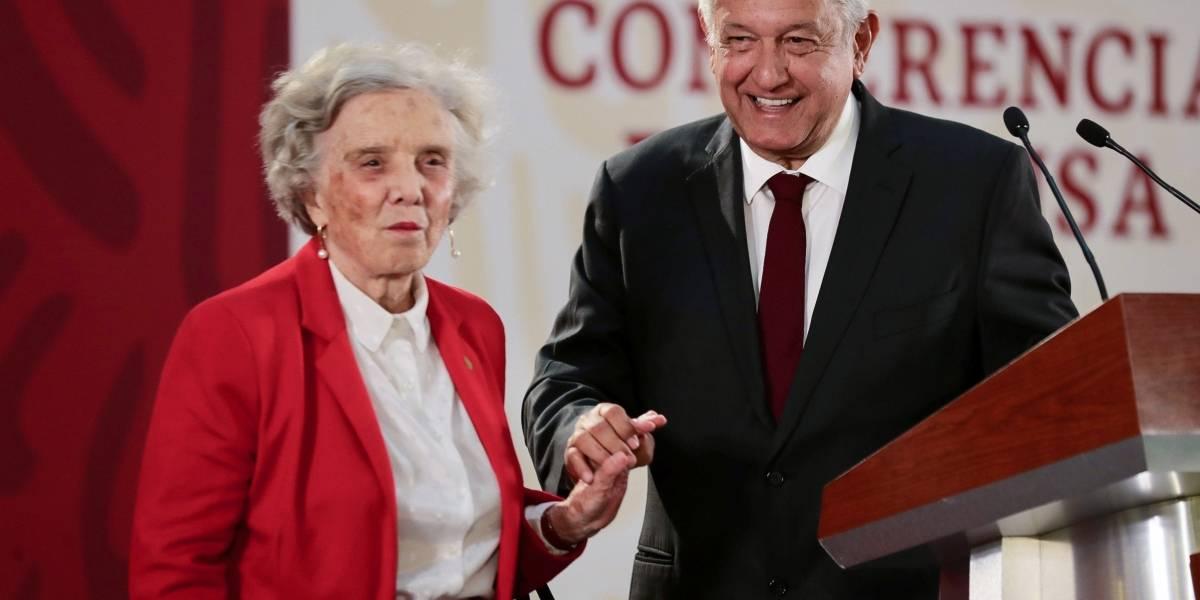 Fundación Elena Poniatowska niega haber recibido dinero del gobierno de AMLO