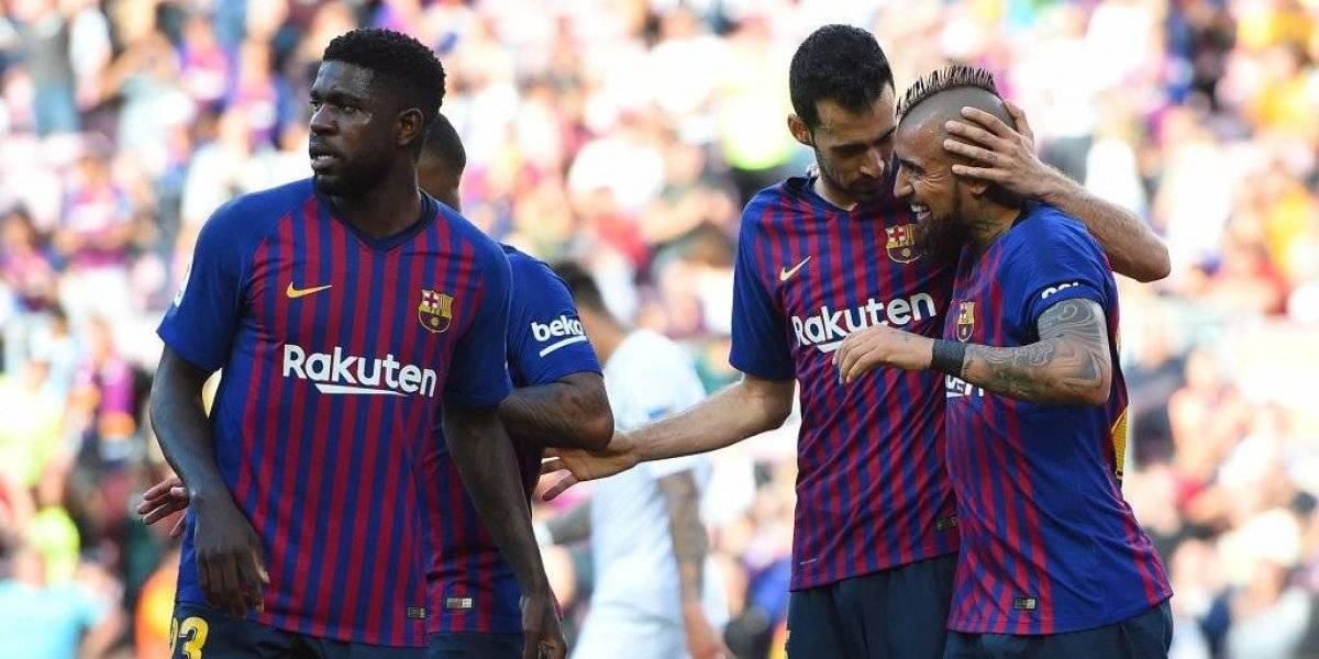 Barcelona obtiene un triunfo de poca trascendencia