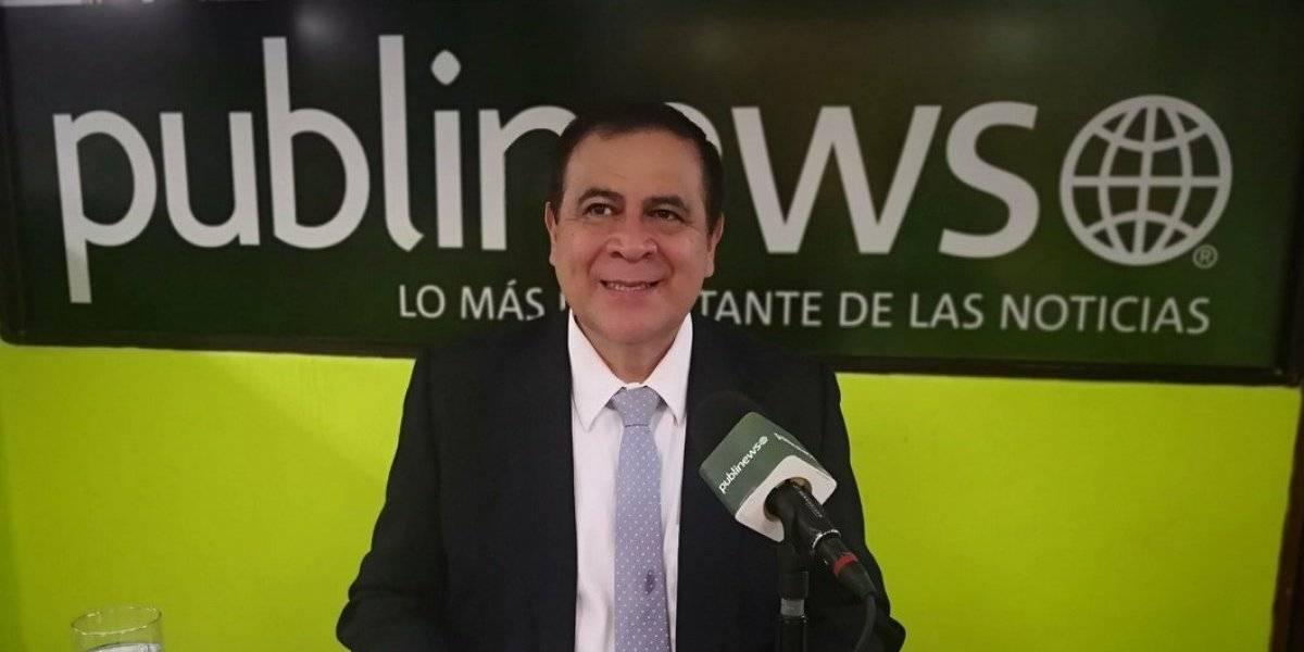 El 10 de Luis Velásquez, candidato presidencial del partido Unidos