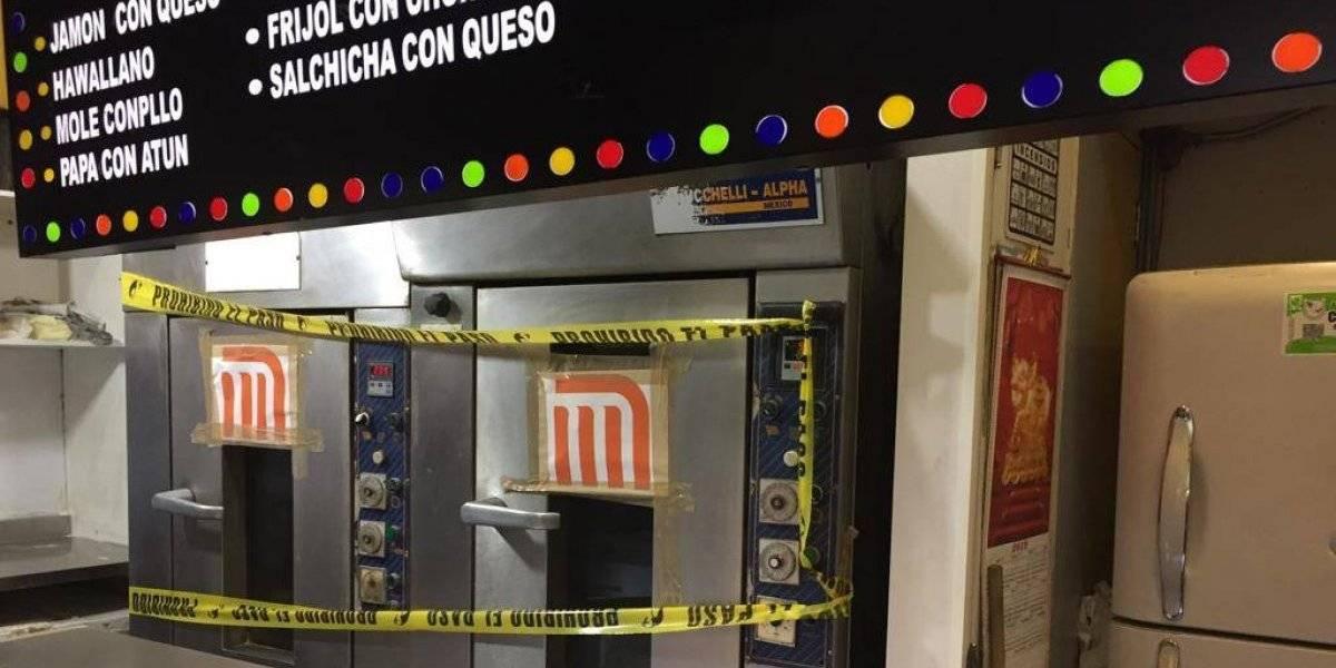 Suspenden preparación de pizzas, pastes y hamburguesas dentro del Metro