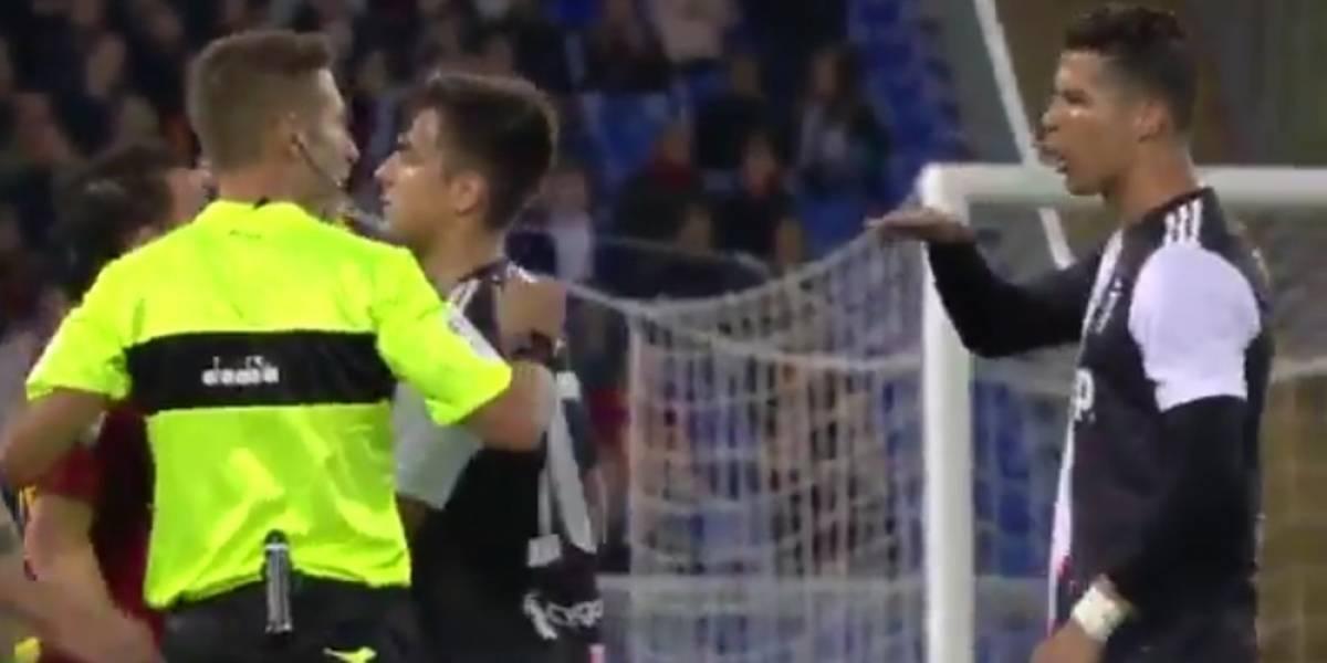 Cristiano Ronaldo se burla de la estatura de Alessandro Florenzi