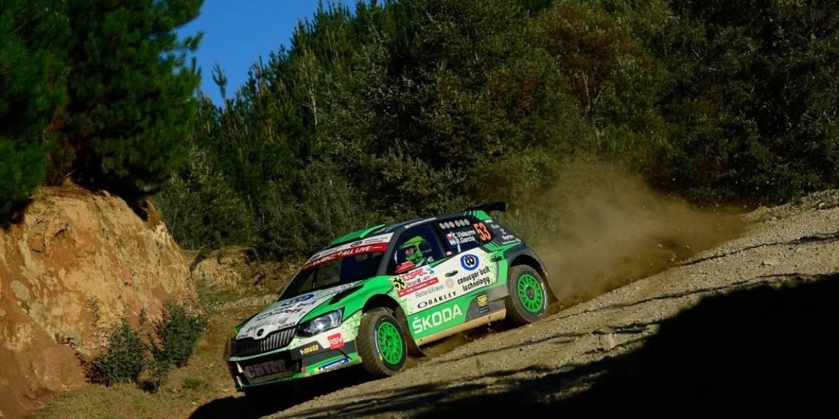 Cristóbal Vidaurre se erige como el mejor chileno del WRC de Concepción