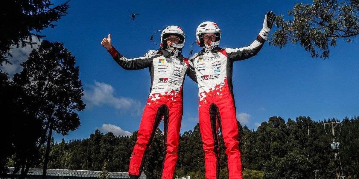 Ott Tänak gana en la histórica fecha en Chile y Sébastien Ogier es el nuevo líder del WRC