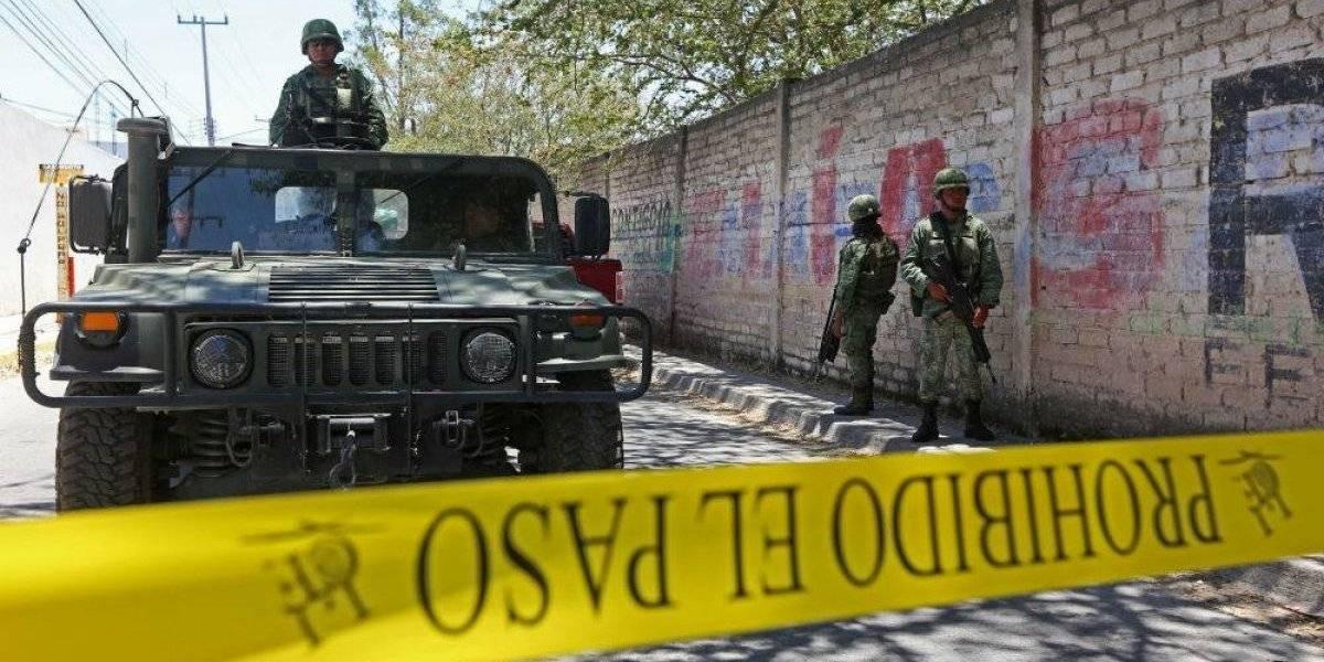 Tras agresión, Ejército localiza restos humanos en Jalisco
