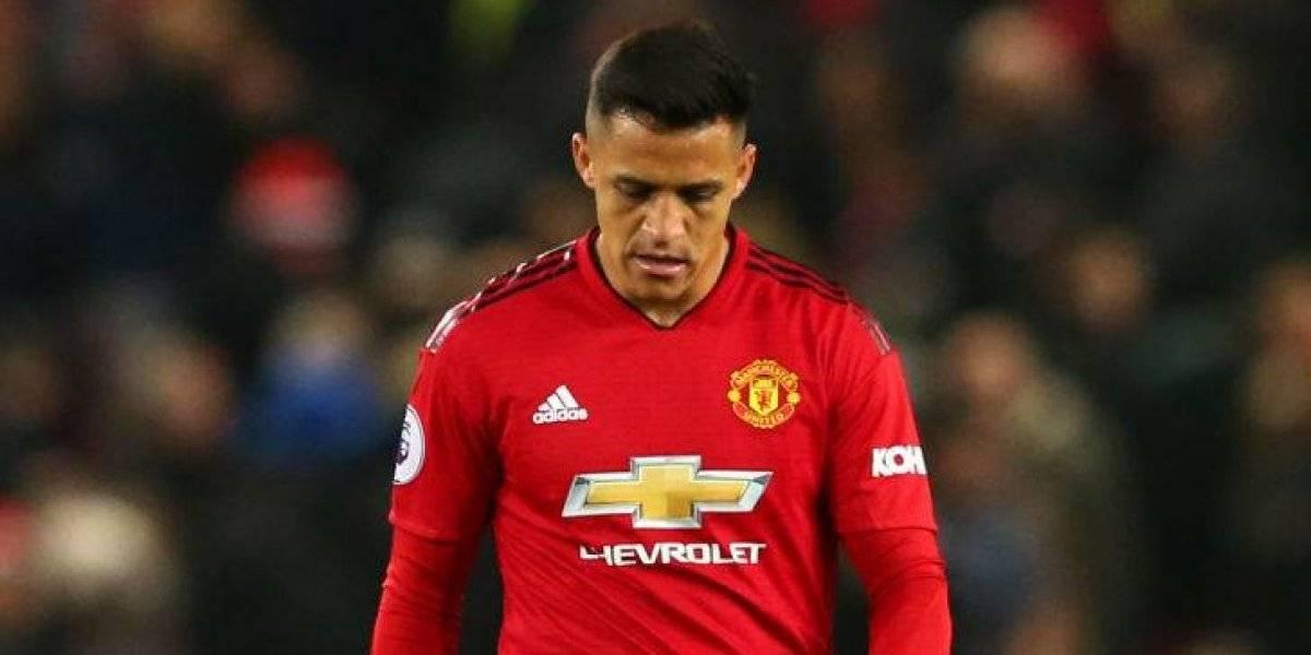 Alexis Sánchez cierra su peor temporada en Europa con lesiones y rumores de salida del Manchester United