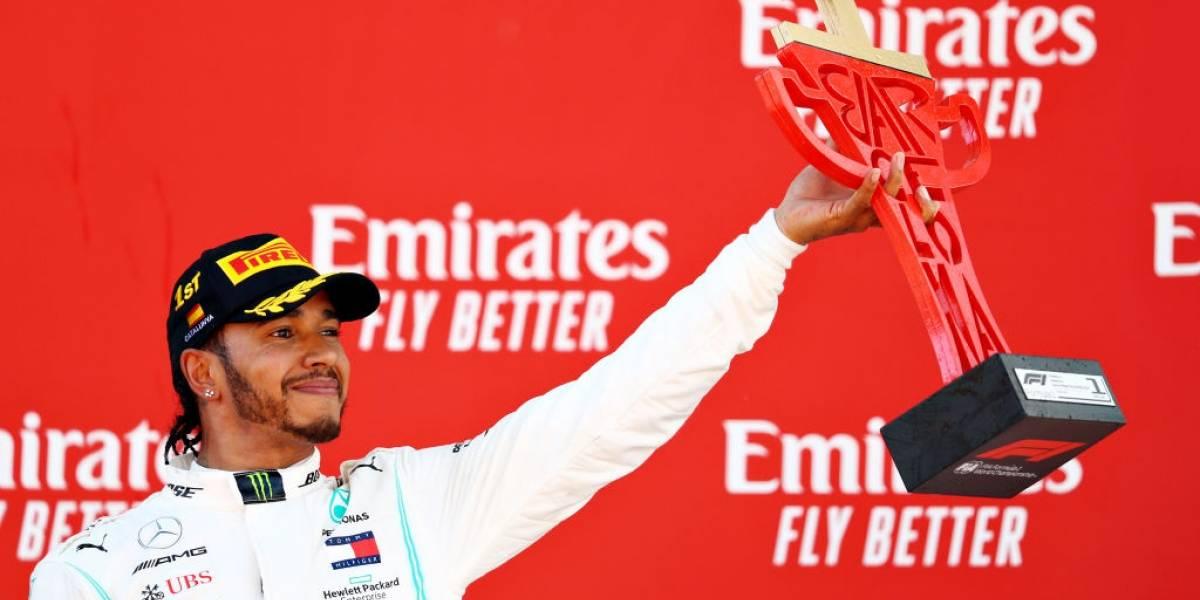 Fórmula 1: Lewis Hamilton venció a Bottas y se quedó con el Gran Premio de España