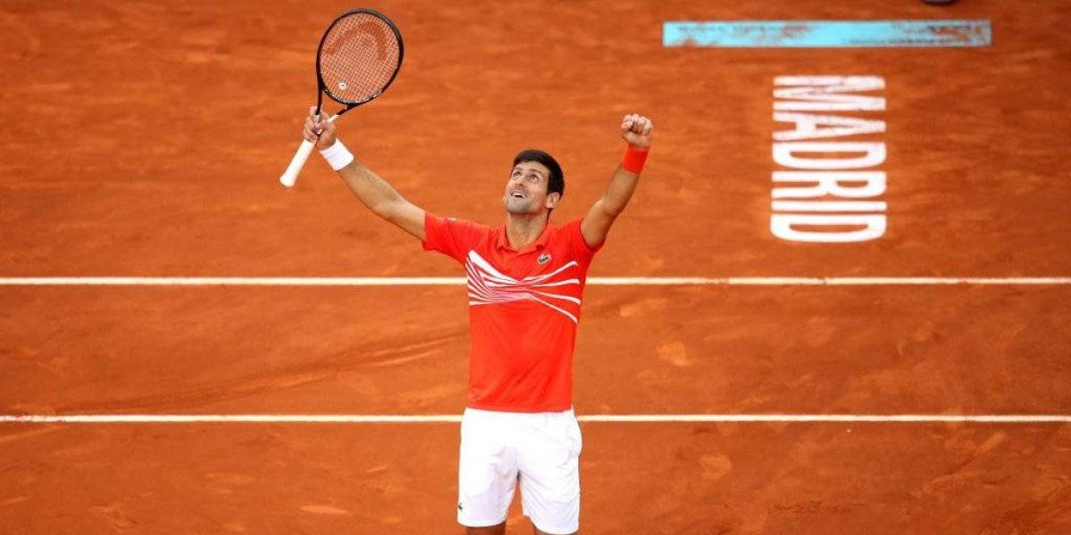 Novak Djokovic se quedó con el título en Madrid y alcanzó récord de Nadal