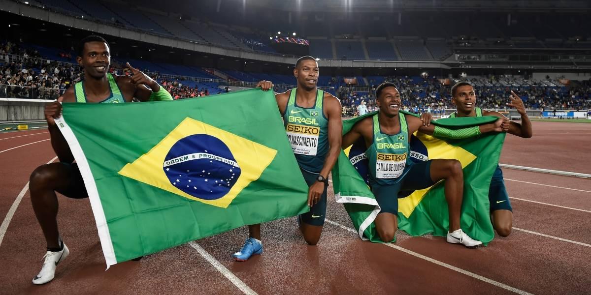 Atletismo: Brasil bate os EUA e leva o ouro no Mundial de Revezamentos
