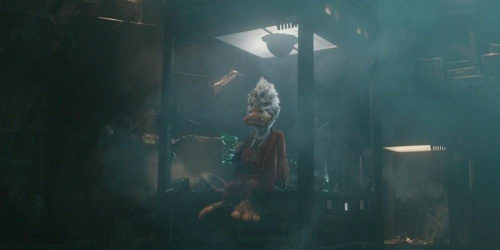 Howard, el Pato en Guardianes de la Galaxia