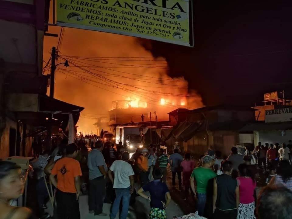 Incendio en Ixcán