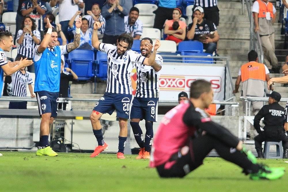 Rodolfo Pizarro hizo el gol del pase. / Israel Salazar / Publimetro