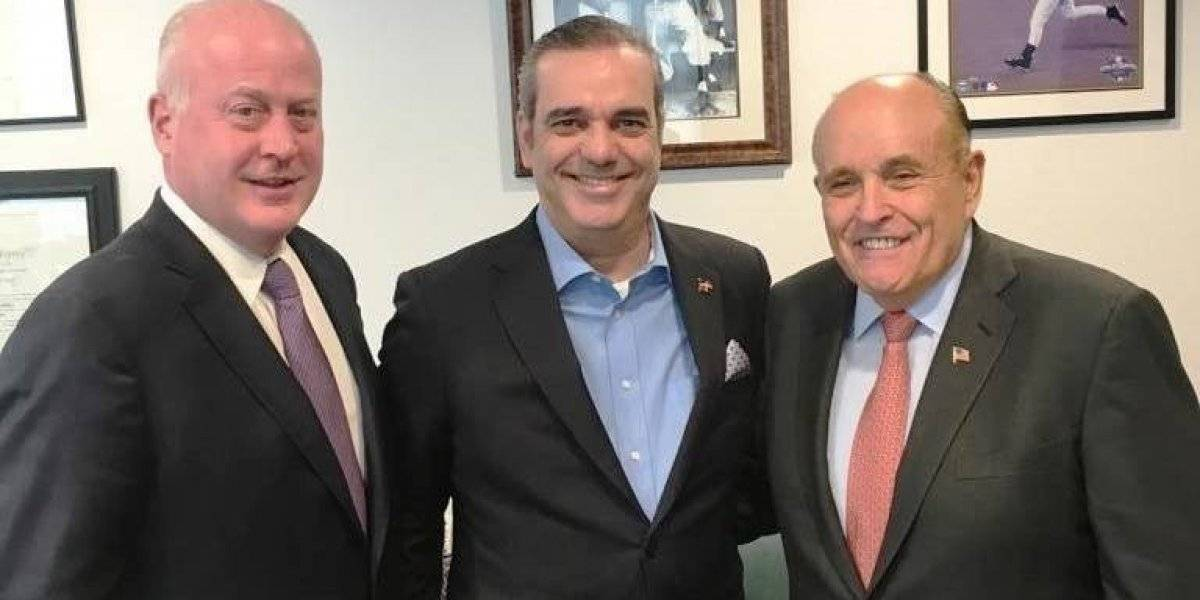 Luis Abinader denuncia en EE.UU. que  en el país se pretende instalar dictadura