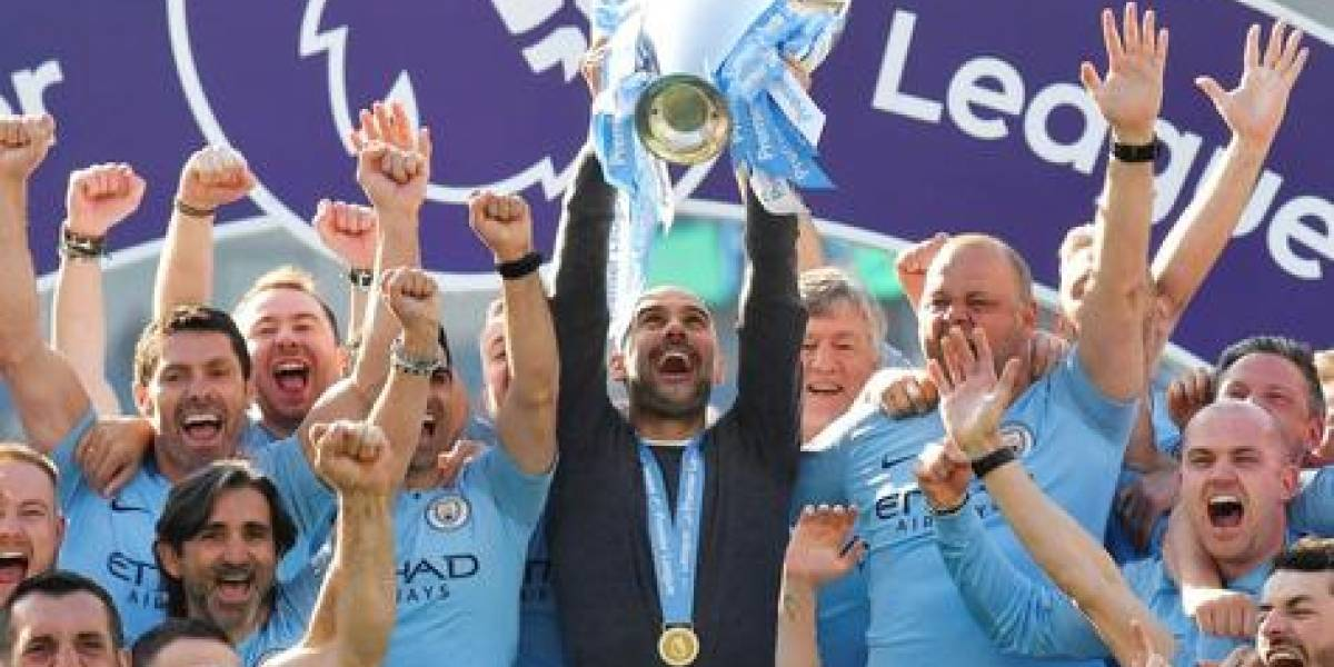 Manchester City no defrauda y sella su bicampeonato en la Premier League
