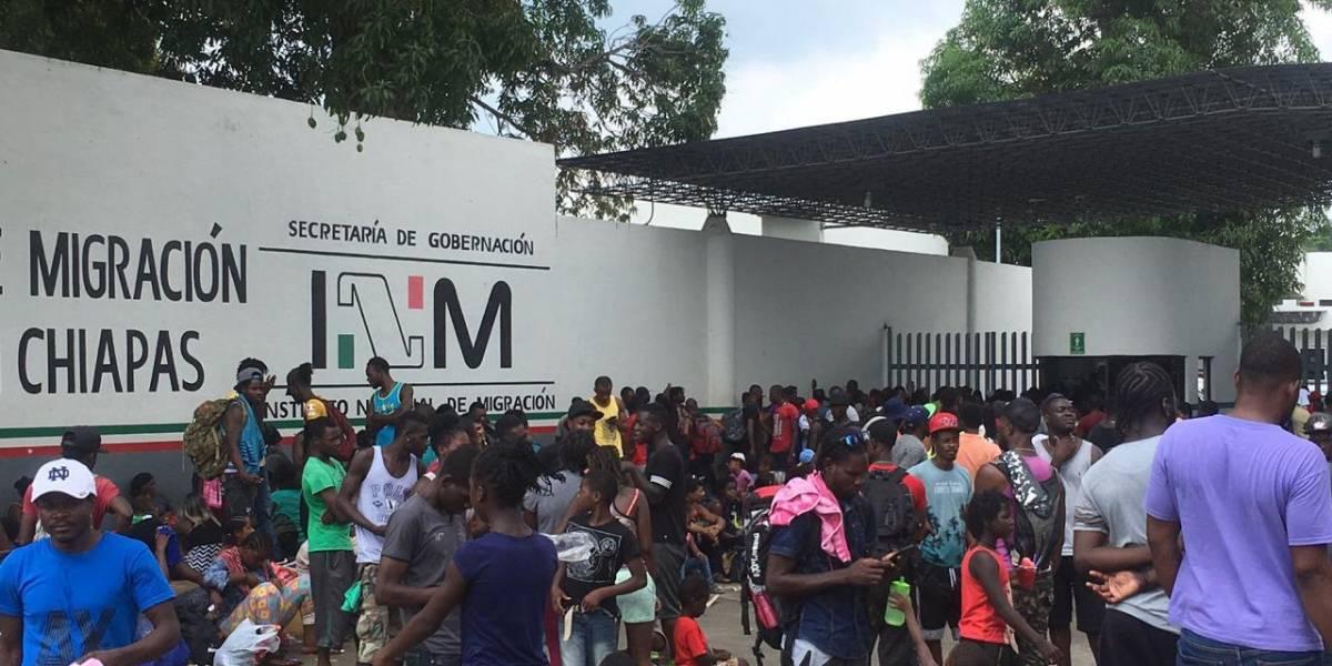 Se registra la sexta fuga de migrantes en estación migratoria de Chiapas