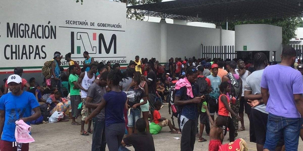 Suben 600% tarjetas de visitante para migrantes del Caribe, centro y sur de América