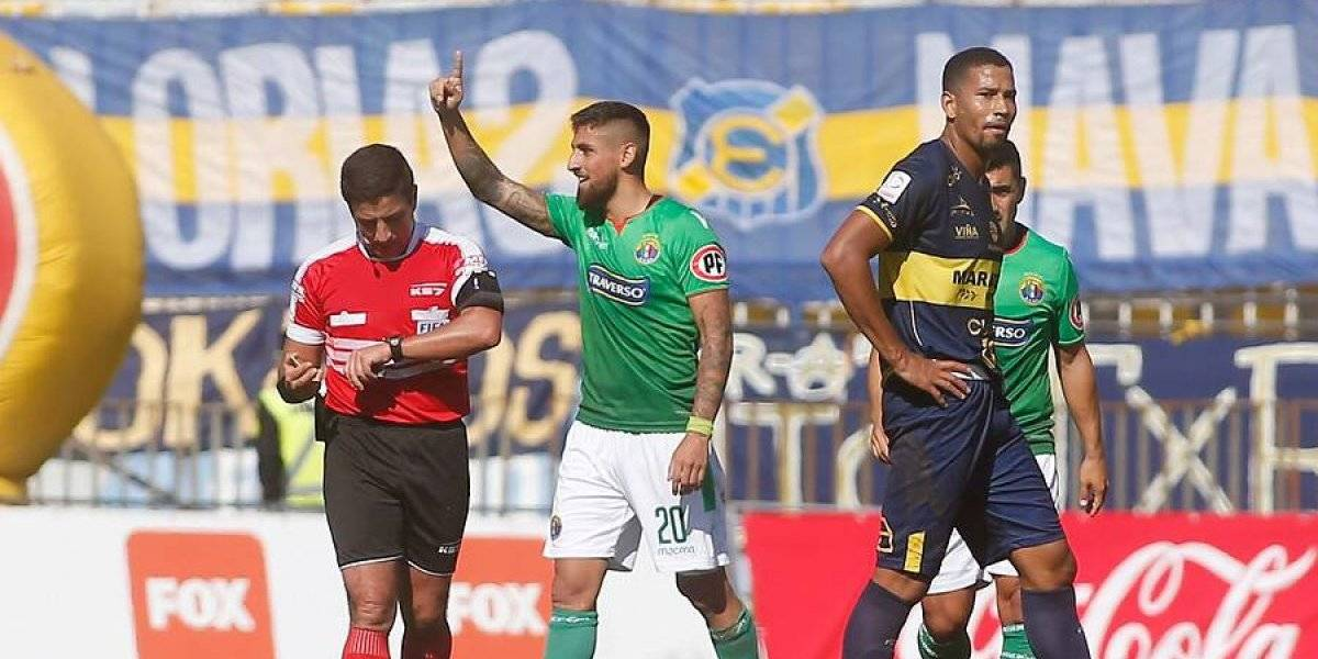 Jeraldino brilla ante Everton en Sausalito y encumbra a Audax Italiano