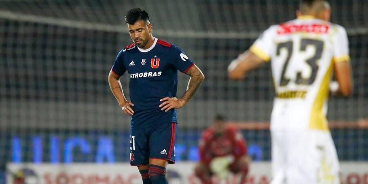La U otra vez no pudo mantener la ventaja y empató ante Coquimbo para seguir como colista