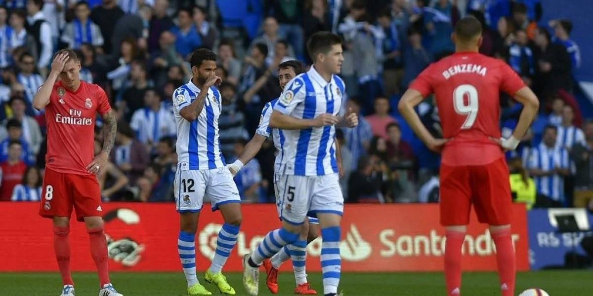 Real Sociedad hace más catastrófica la campaña del Madrid