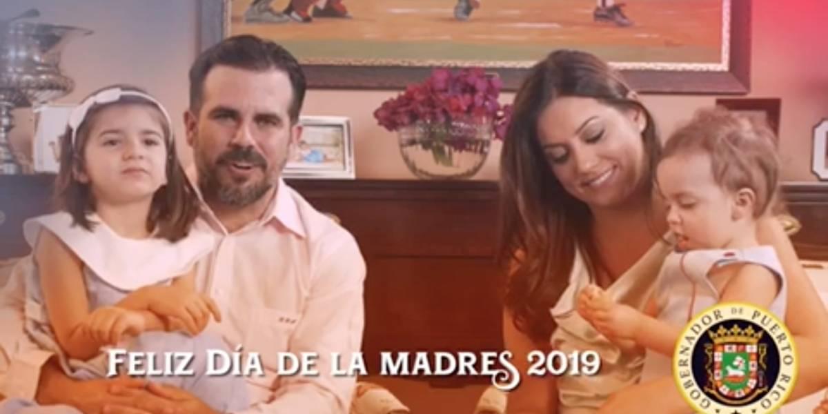 Gobernador y primera dama felicitan a las madres boricuas