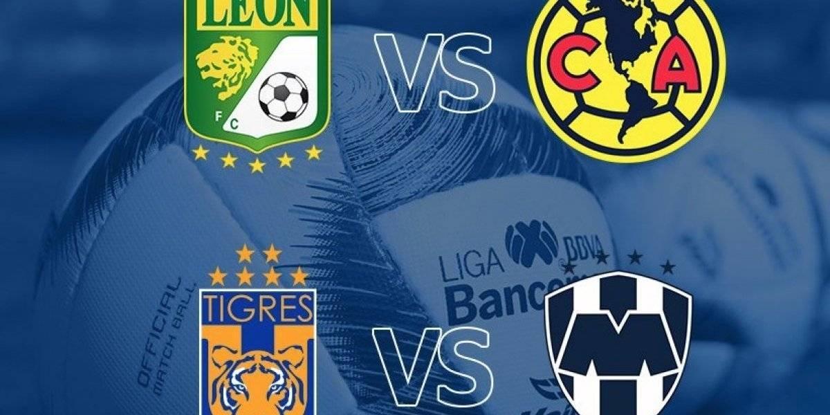Así se jugarán las semifinales del Clausura 2019