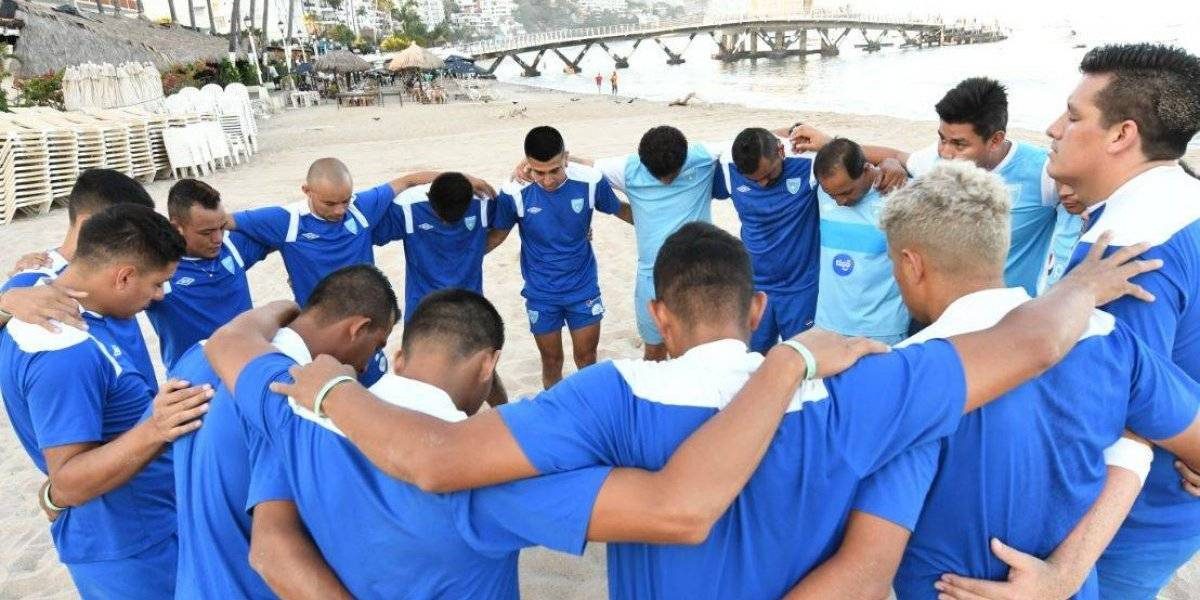 Futbol playa: Guatemala lista para el debut ante México