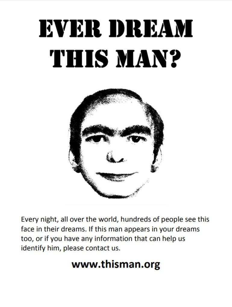 This Man: La historia de la cara de un hombre que miles de personas han visto únicamente en sus sueños