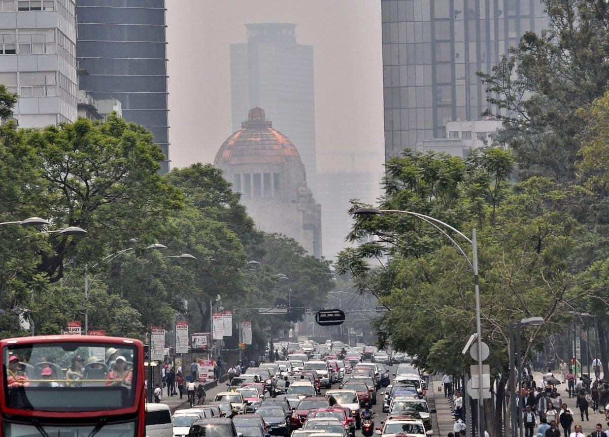 Contaminación en la Ciudad de México Foto: Notimex