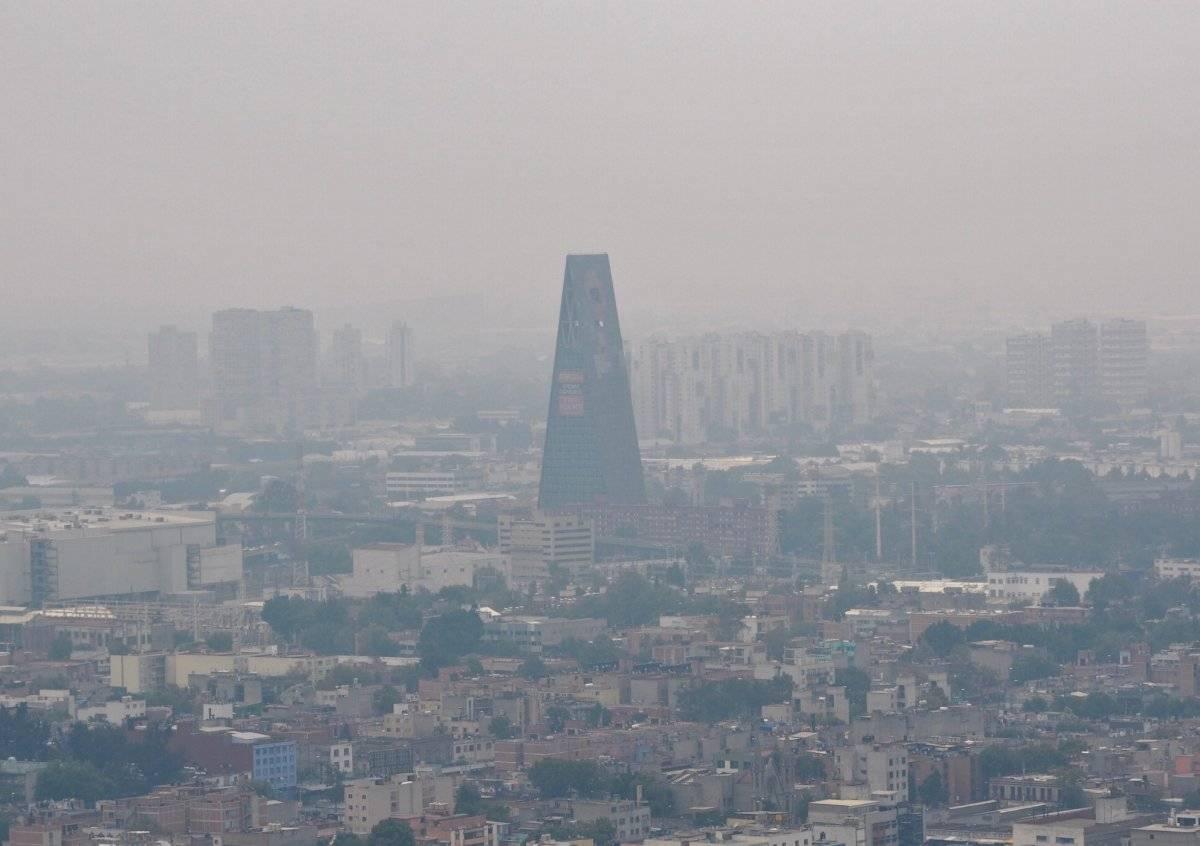 Mala calidad del aire en la Ciudad de México Foto: Notimex