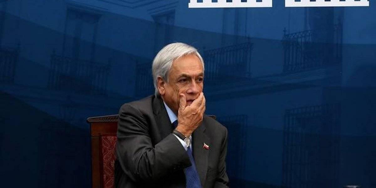 """Piñera calificó como un """"duro golpe"""" el rechazo a la reforma de pensiones"""